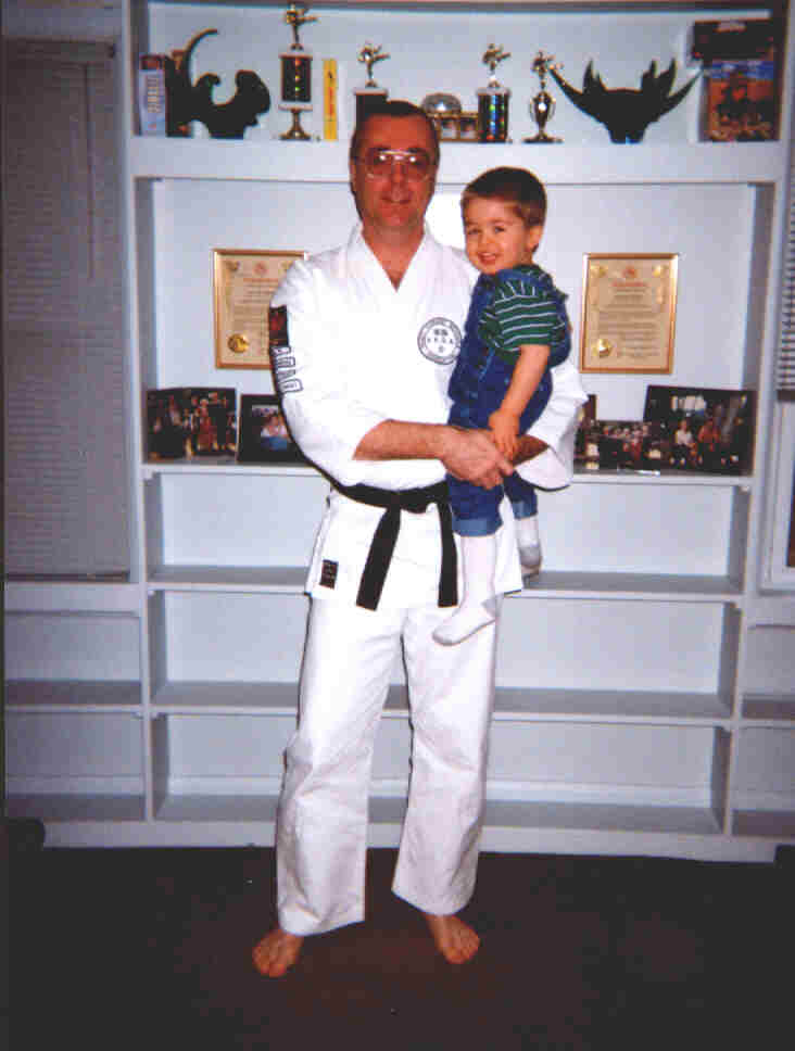 Sensei Lou and Daniel
